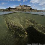 Bretagne - Fort National, Plage de l'Eventail, Saint Malo. Xavier Desmier